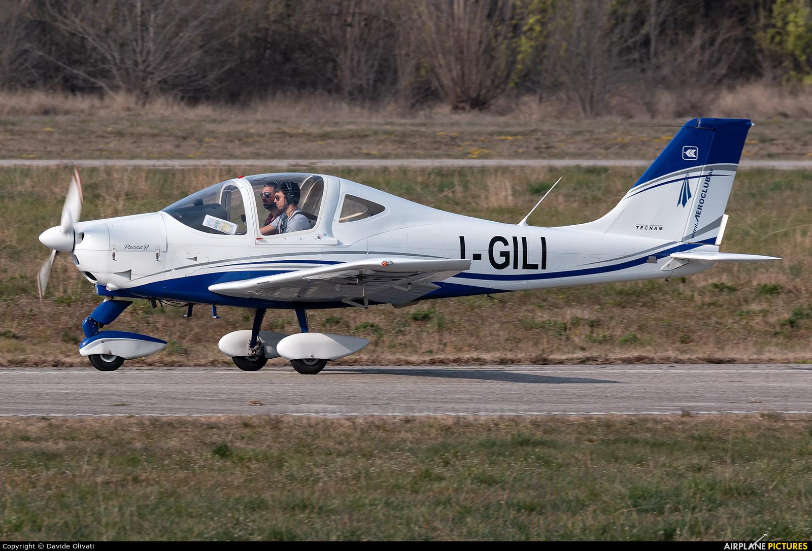 Private I-GILI aircraft at Verona - Boscomantico