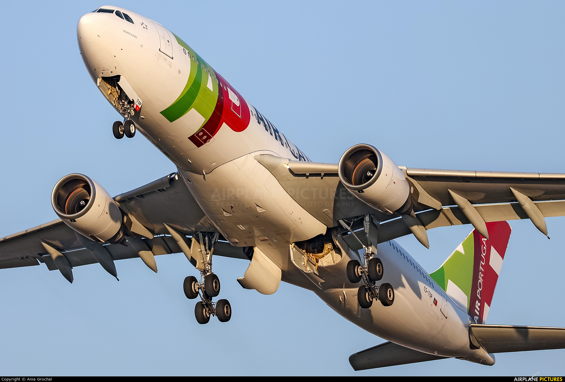 TAP Portugal CS-TOP aircraft at Warsaw - Frederic Chopin