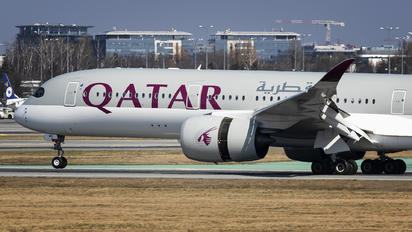 A7-AMG - Qatar Airways Airbus A350-900