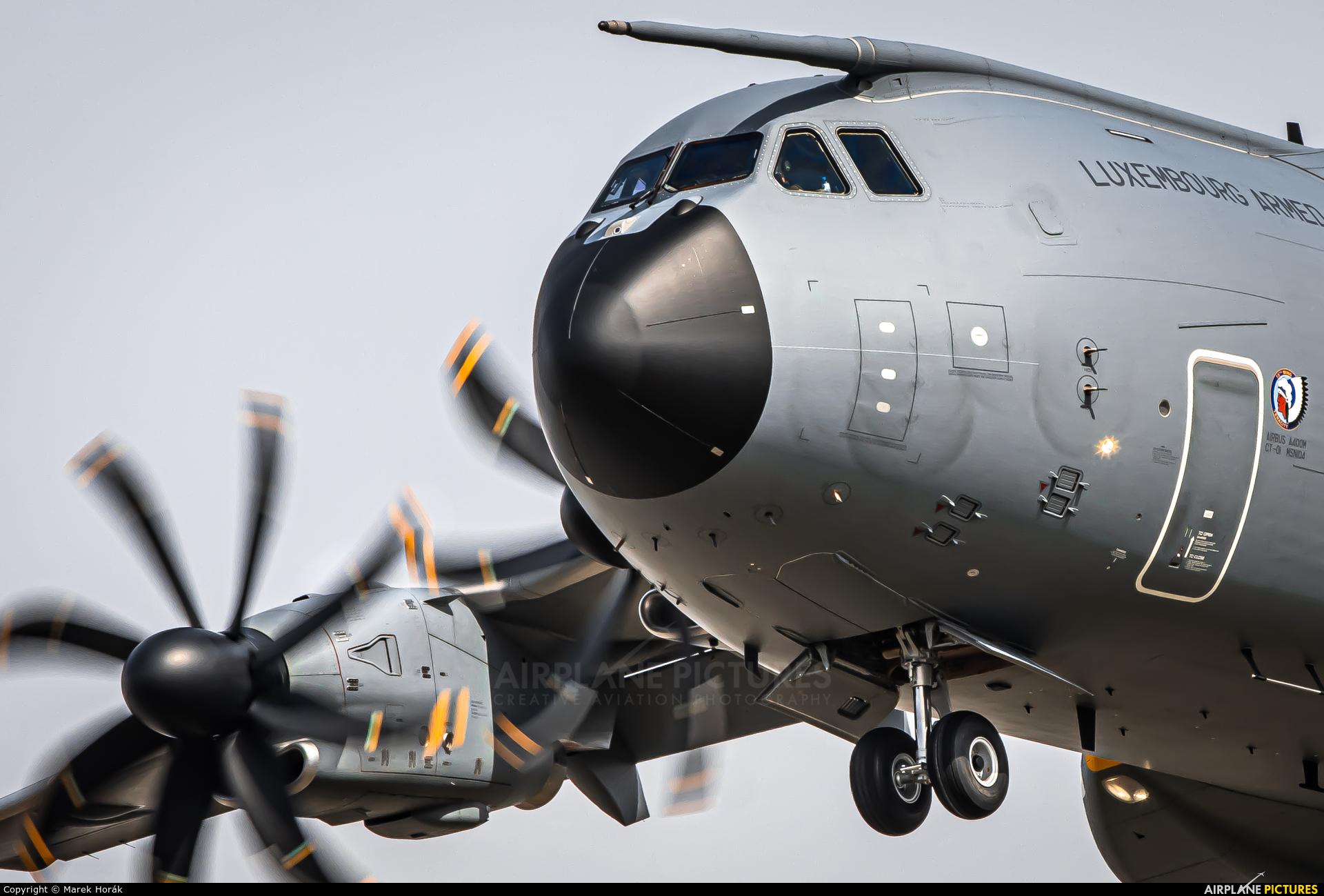 Belgium - Air Force CT-01 aircraft at Prague - Václav Havel