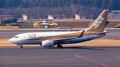 JA01AN - ANA - All Nippon Airways Boeing 737-700