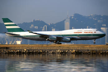 VR-HUD - Cathay Pacific Boeing 747-400