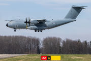 Rare visit of Luxembourg Armed Forces A400M at Ostrava title=