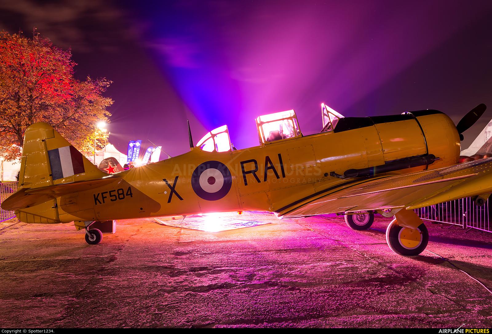 North American Airlines KF584 aircraft at Warsaw - Frederic Chopin