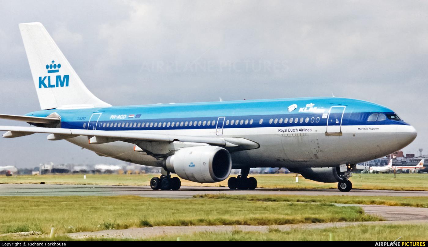 KLM PH-AGD aircraft at London - Heathrow
