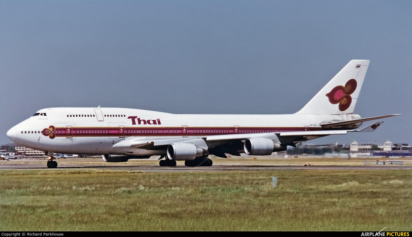 Thai Airways HS-TGH aircraft at London - Heathrow