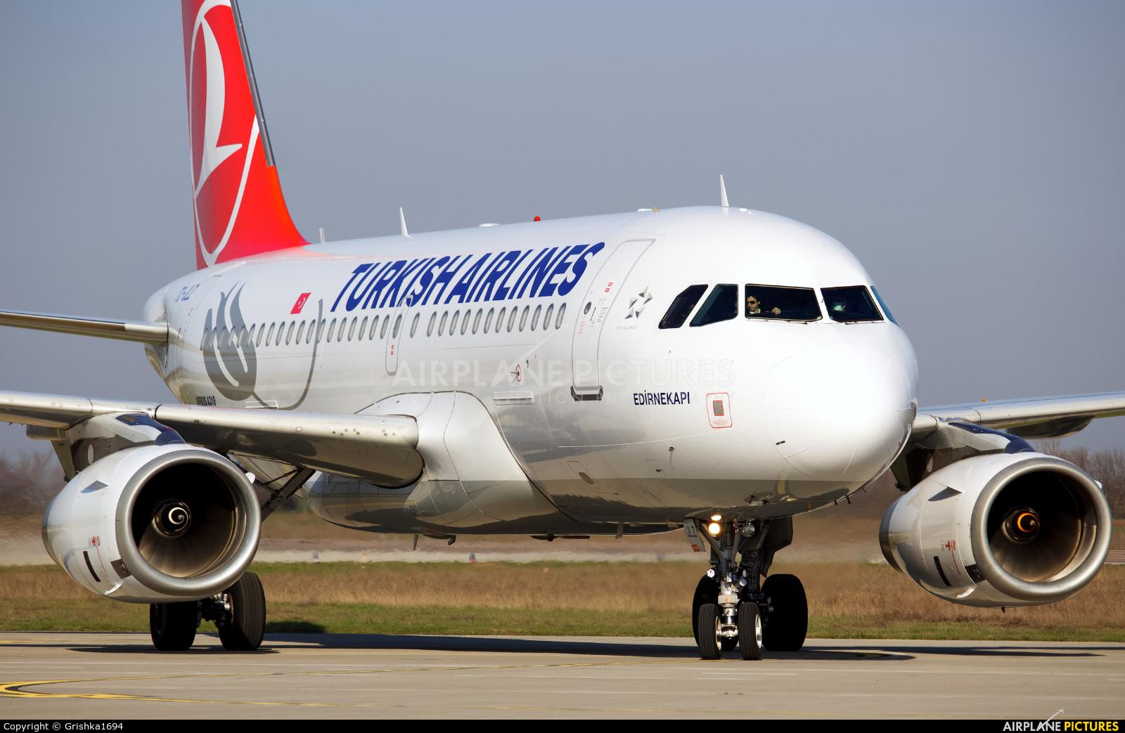 Turkish Airlines TC-JLZ aircraft at Kherson International