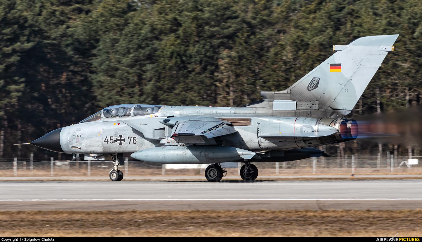 Germany - Air Force 45+76 aircraft at Ingolstadt - Manching