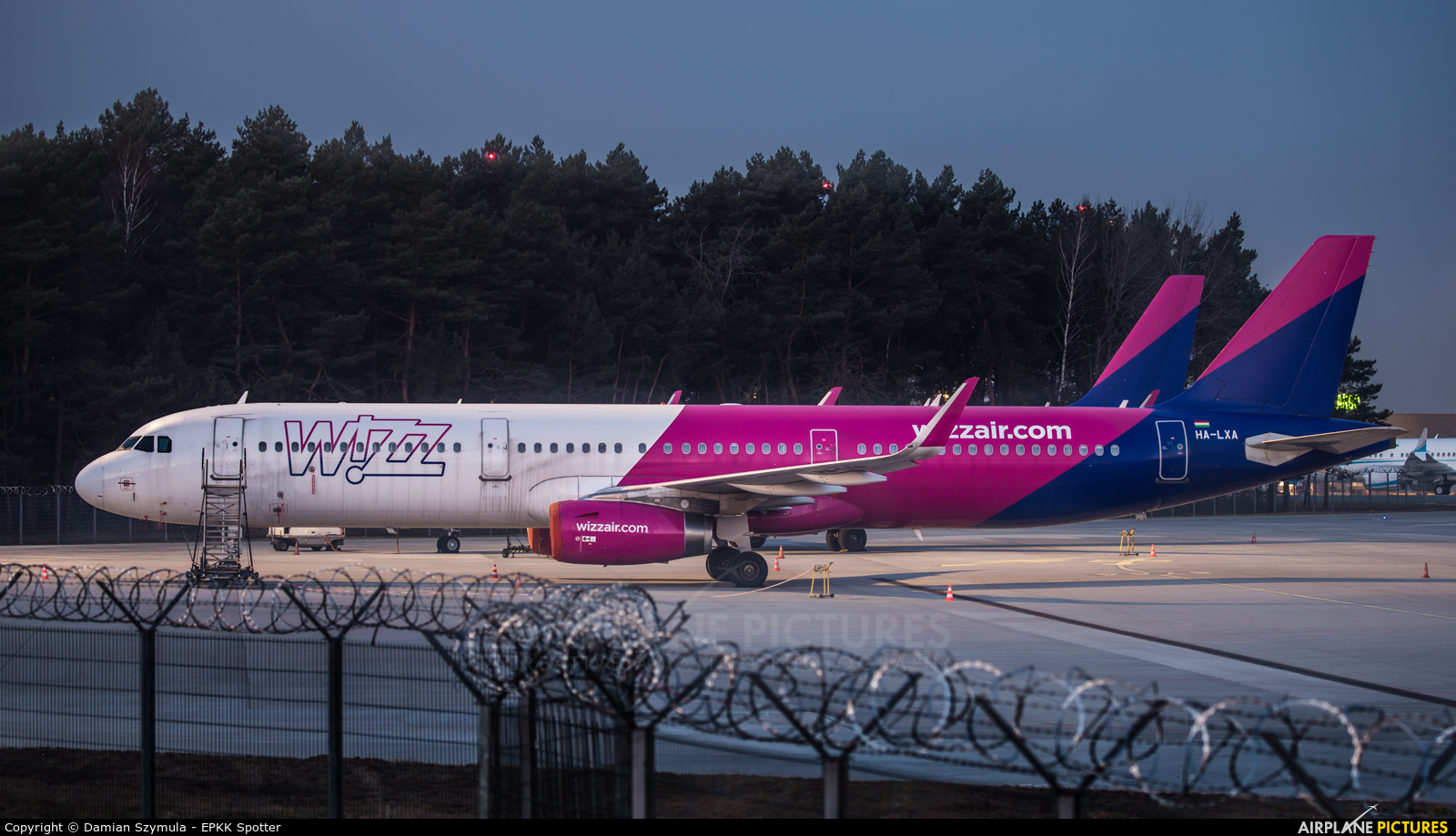 Wizz Air HA-LXA aircraft at Katowice - Pyrzowice