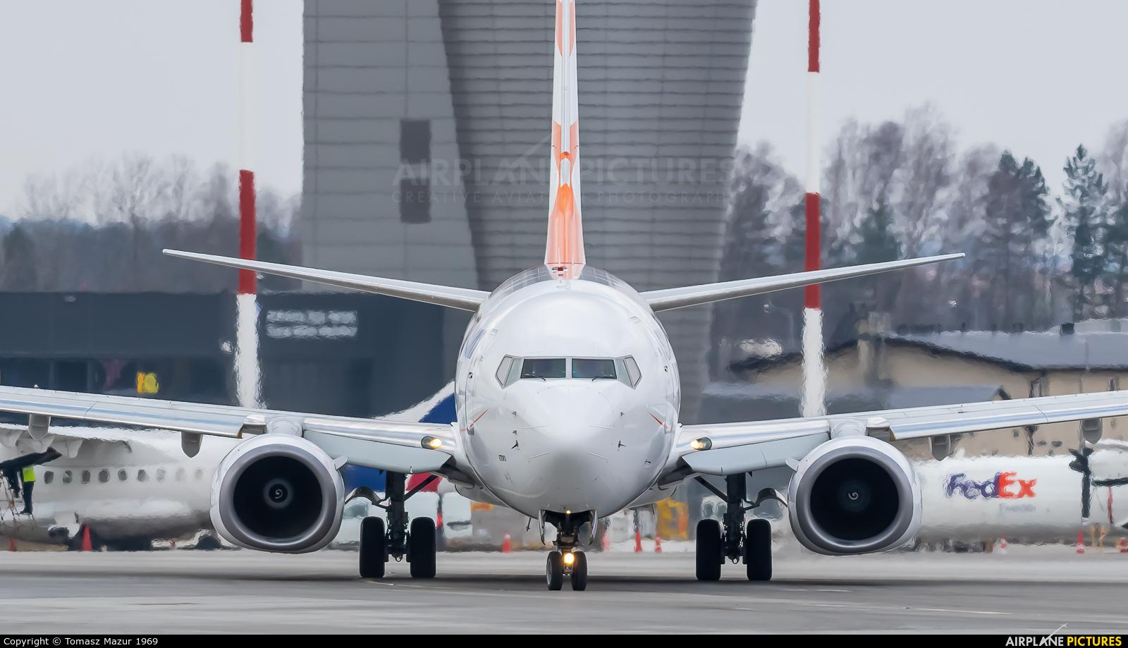 SmartWings OK-TVW aircraft at Katowice - Pyrzowice