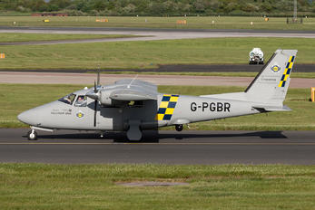 G-PGBR - Greater Manchester Police Partenavia P68R / VR
