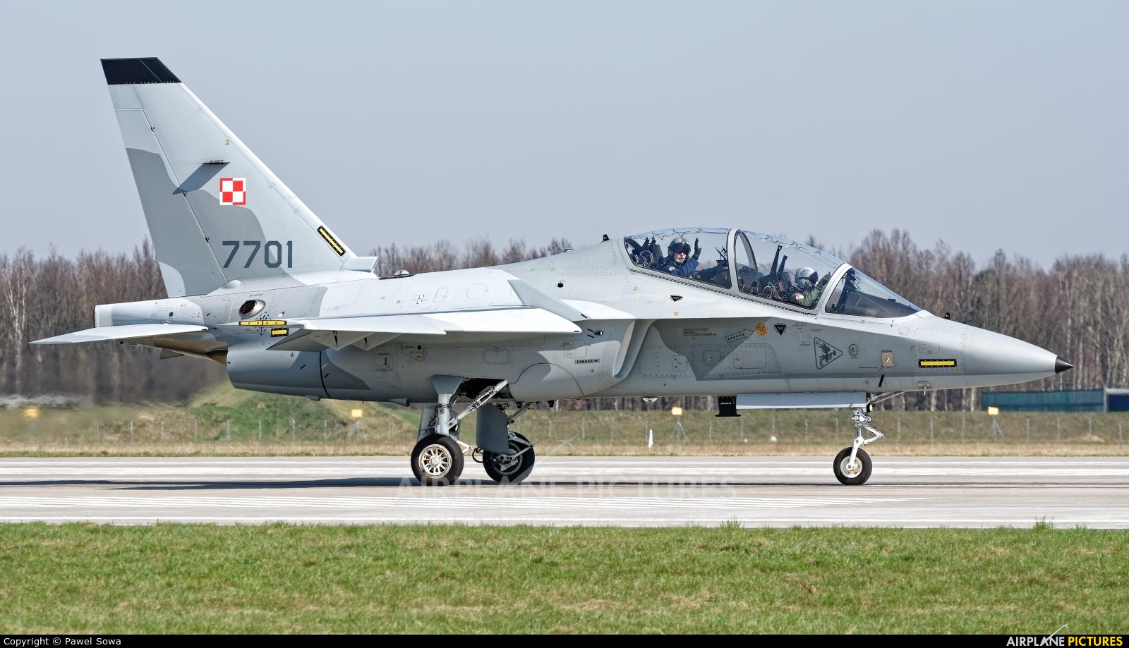 Poland - Air Force 7701 aircraft at Dęblin