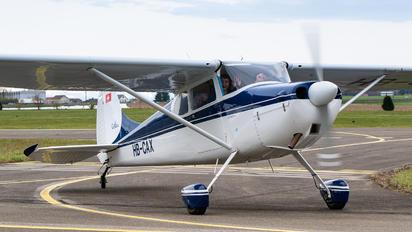 HB-CAX - Private Cessna 170