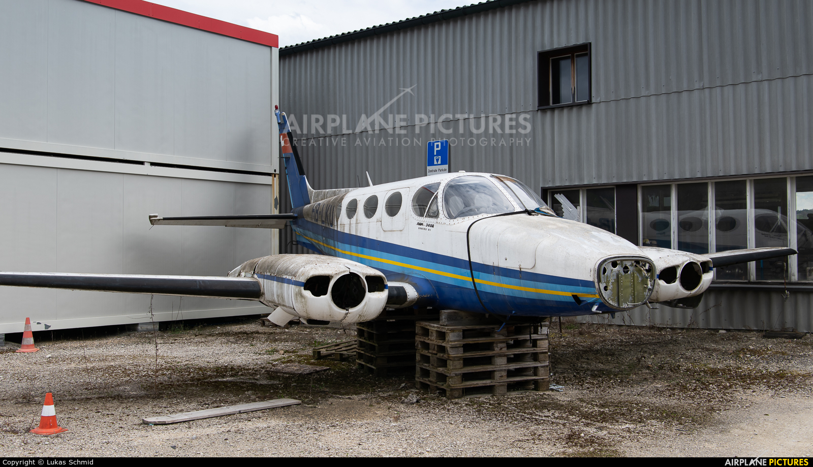 Private HB-LKU aircraft at Grenchen