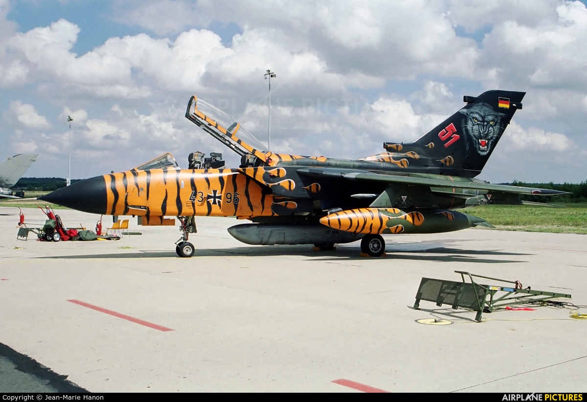 Germany - Air Force 43+96 aircraft at Florennes