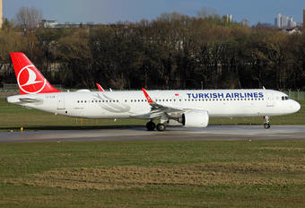 TC-LSK - Turkish Airlines Airbus A321 NEO