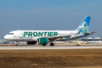 N338FR - Frontier Airlines Airbus A320 NEO