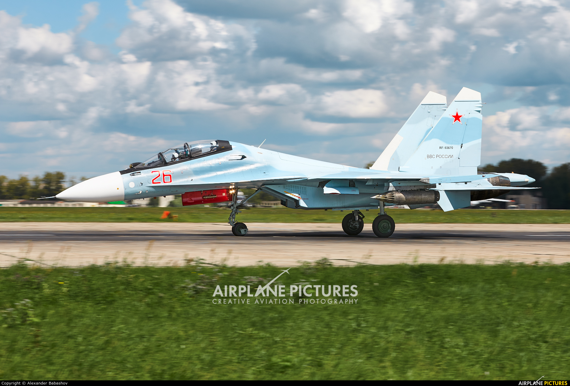 Russia - Air Force 26 aircraft at Undisclosed Location