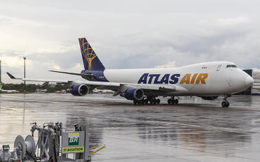 N475MC - Atlas Air Boeing 747-400F, ERF