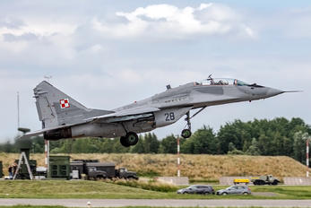 28 - Poland - Air Force Mikoyan-Gurevich MiG-29A