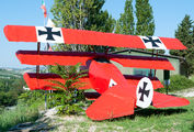 - - Germany - Air Force Fokker DR.1 Triplane (replica) aircraft
