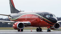 KlasJet Boeing 737 visit to Łódź title=
