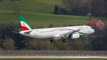 Islamic Republic of Iran A321 cargo flight Zurich title=