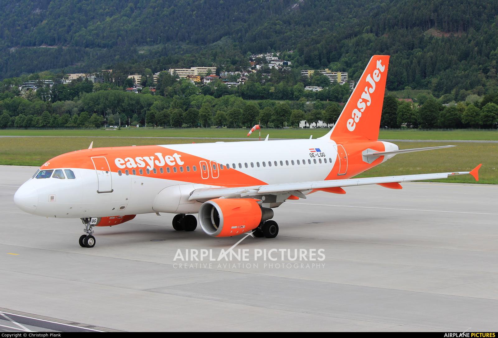 easyJet Europe OE-LQG aircraft at Innsbruck