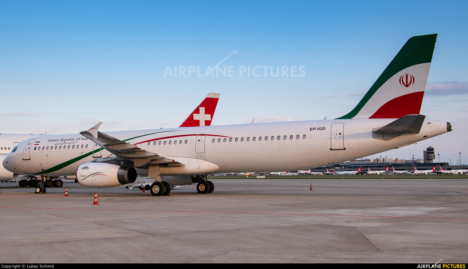 Iran - Government EP-IGD aircraft at Zurich