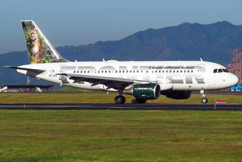 N910FR - Frontier Airlines Airbus A319