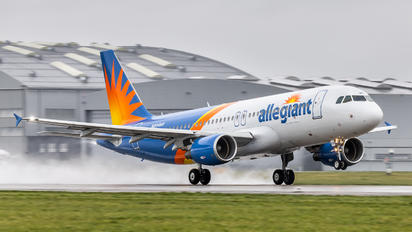 N204NV - Allegiant Air Airbus A320