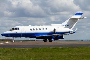 G-RCFC - Saxon Air Hawker Beechcraft 900XP