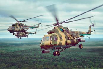 10 - Russia - Air Force Mil Mi-8MTV-5