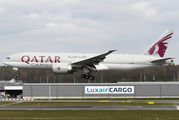 A7-BFP - Qatar Airways Cargo Boeing 777F aircraft