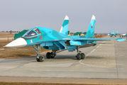19 - Russia - Air Force Sukhoi Su-34 aircraft