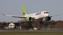 YL-AAX - Air Baltic Airbus A220-300 aircraft