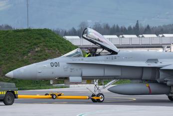 J-5001 - Switzerland - Air Force McDonnell Douglas F/A-18C Hornet