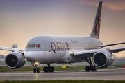 A7-BCQ - Qatar Airways Boeing 787-8 Dreamliner aircraft