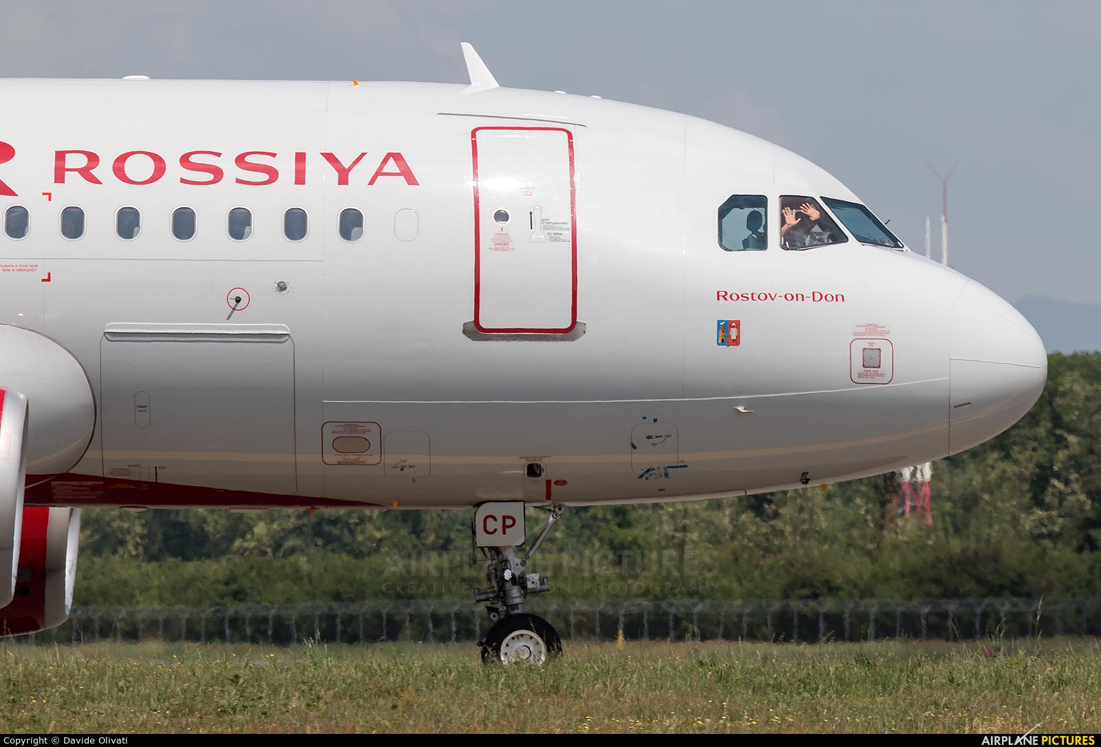 Rossiya VQ-BCP aircraft at Milan - Malpensa