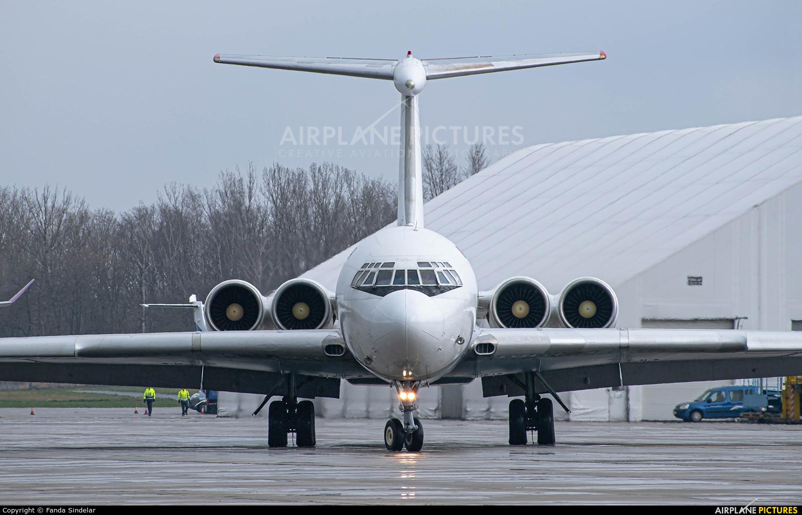 Rada Airlines EW-450TR aircraft at Ostrava Mošnov
