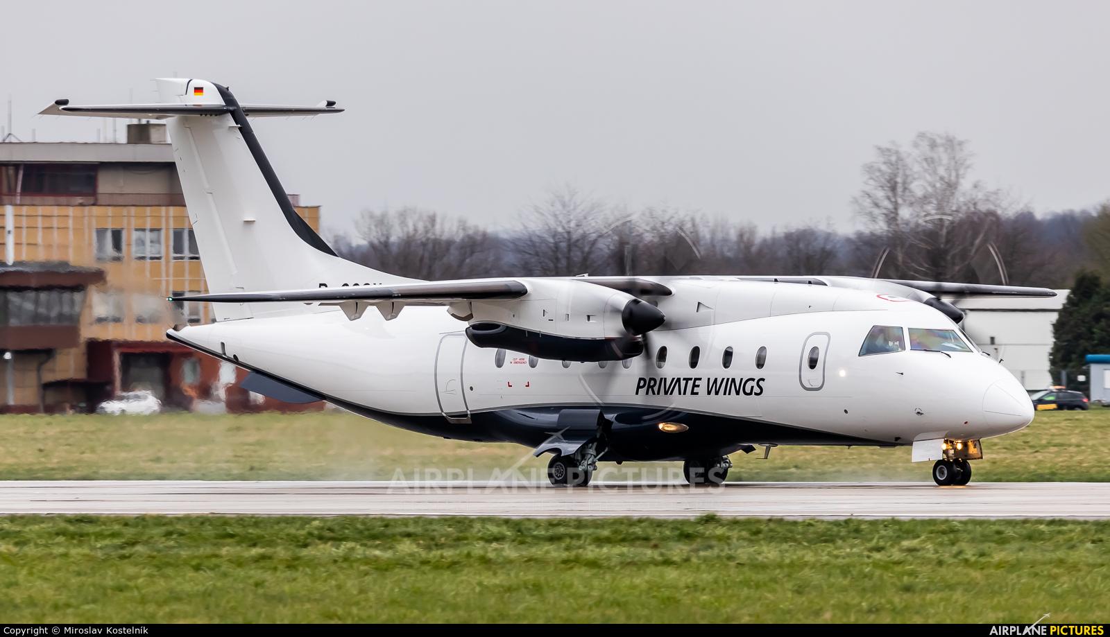 Private Wings D-COSY aircraft at Ostrava Mošnov