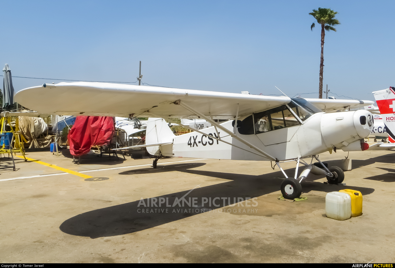 Private 4X-CSY aircraft at Herzelia