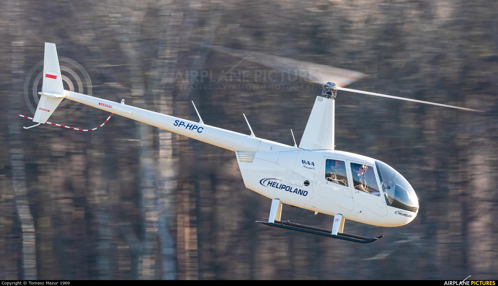 Helipoland SP-HPC aircraft at Rybnik - Gotartowice