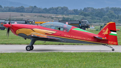RJF03 - Royal Jordanian Falcons Extra 330LX