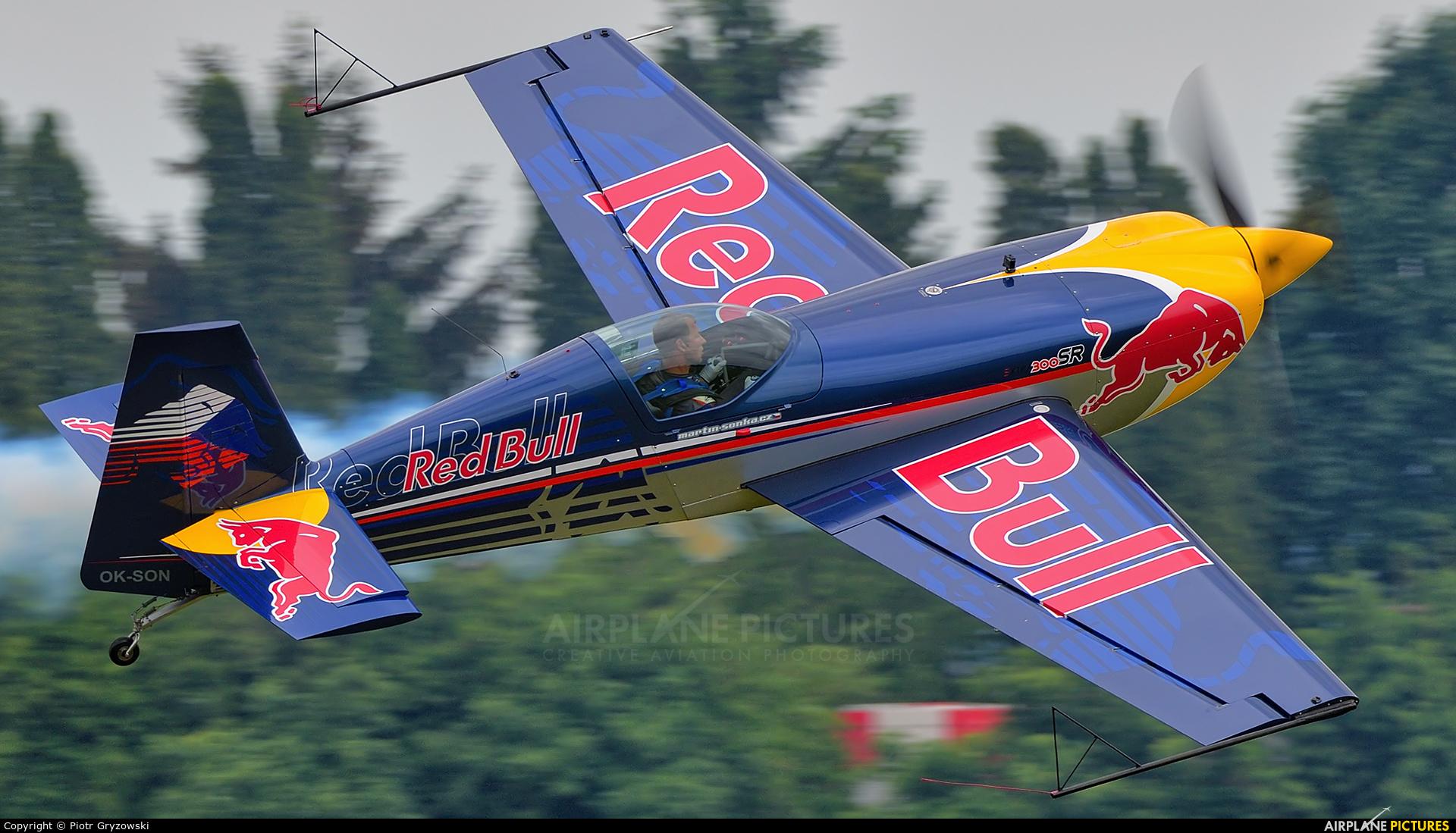The Flying Bulls OK-SON aircraft at Čáslav