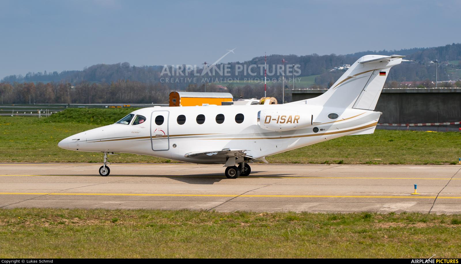 Private D-IASR aircraft at Zurich