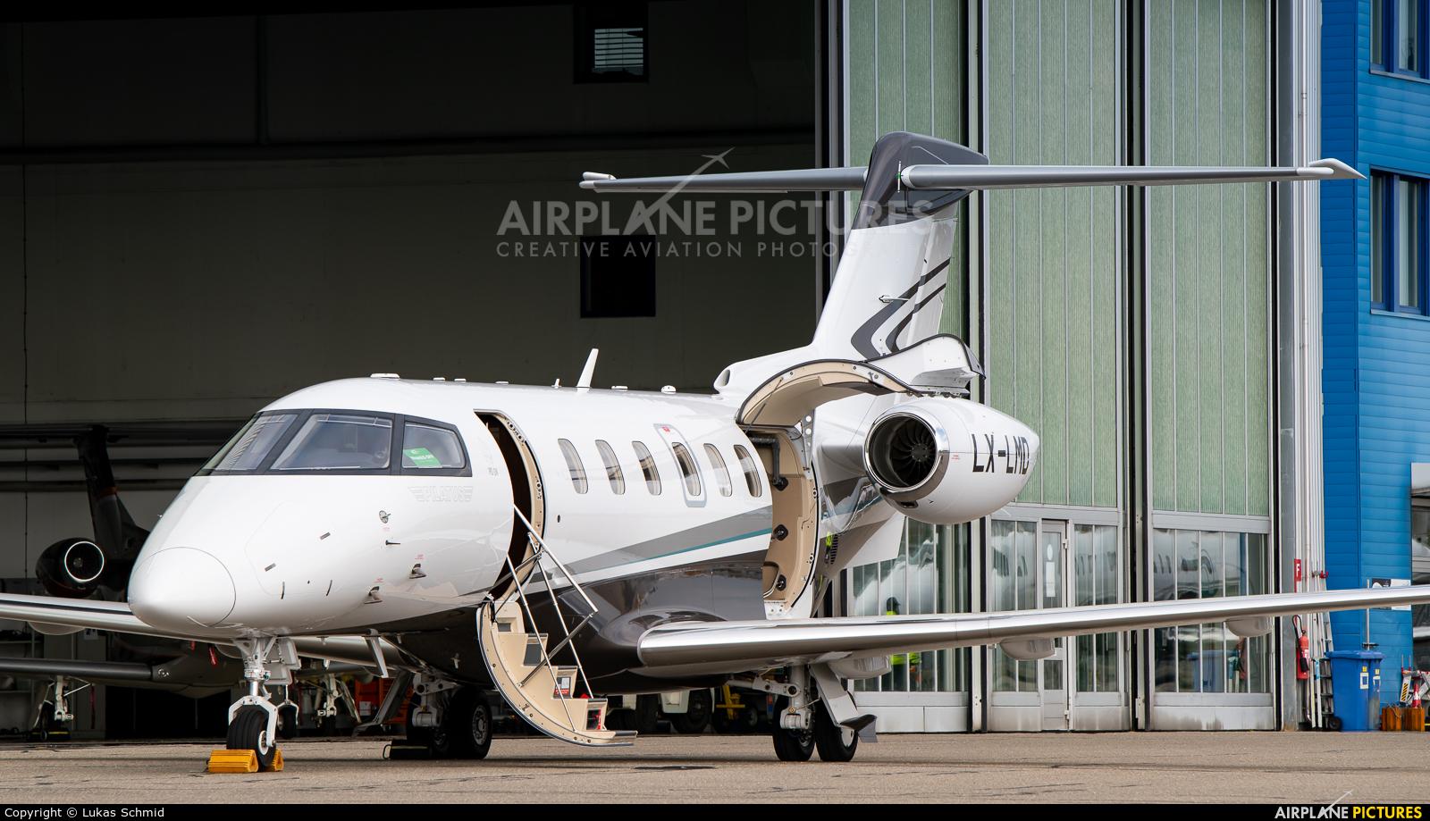 Jetfly Aviation LX-LMD aircraft at Zurich
