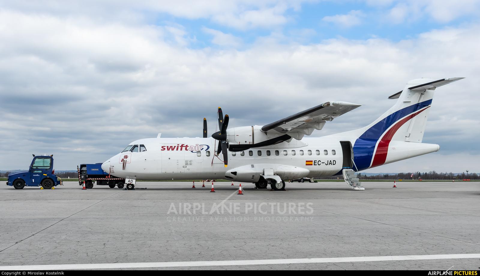 Swiftair EC-JAD aircraft at Ostrava Mošnov