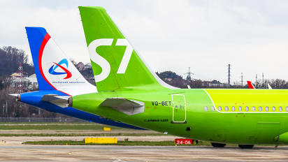 VQ-BET - S7 Airlines - Airport Overview - Aircraft Detail