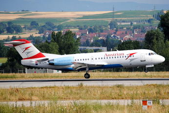 OE-LFK - Austrian Airlines/Arrows/Tyrolean Fokker 70